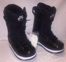 New Size 7.5 Nike SB Vapen Snowboarding Boots Women's Black 447124-002