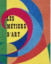 LES METIERS D ART   FRANCE  POSTCARD FRANCE CPA Carte Postale Maximum H1000