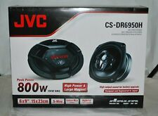 New listing Jvc Cs-Dr6950H 5-Way 6x9-Inch 800 Watts Max Car Speakers Pair Brand New