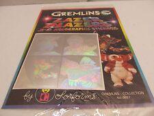 GREMLINS 1984 LAZER BLAZERS 3-D HOLOGRAPHIC STICKERS NIP HOLOGRAM GIZMO STRIPE