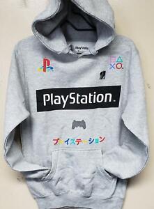 Playstation New Playstation Logo Licensed Hoodie Sweatshirt