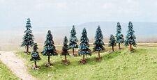 Arbres Trees 10 Pieces Assortiment N 1:160 Diorama Model BUSCH