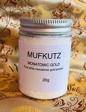MONATOMIC WHITE POWDER GOLD M-State ORMUS 20g most POTENT Form bn