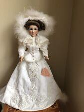 Maryse Nicole Franklin Mint Heirloom Porcelain Doll Charmin' Crystal