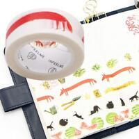 Verwenden Diy Fertigkeit Dekorative Scrapbooking Papier Fuchs Muster Bonrol L4K0