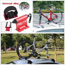 New Red Bike Car Carrier Quick-Release Alloy Fork lock Roof Luggage Mount Rack