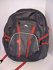High Sierra Loop Backpack Gray Orange Everyday Backpack 31.5 L 19.5 x 13 x 8 NEW