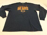 VINTAGE NFL REEBOK PROPERTY OF BEARS NFL CHICAGO long sleeve t shirt size Large