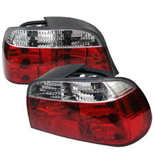 BMW 7-Series 95-01 Red Clear Rear Tail Lights Set Brake Lamp 740i 740iL 750iL