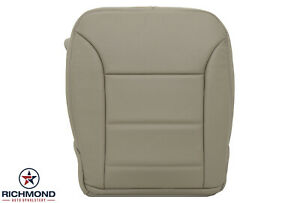 2009-2011 Mercedes Benz ML- Driver Side Bottom GENUINE Leather Seat Cover Tan