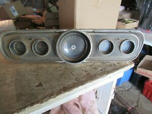 Vintage 1966?? Ford Mustang Instrument Cluster C6ZF 10843 Lot 21-53-5