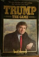 Vintage 1989 Trump The Game Milton Bradley Board Game