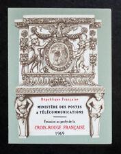 Sello FRANCIA / FRENCH stamp - Yvert Tellier Carnet Cruz Rojo n°2018 (Cyn25) D
