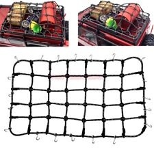 Cool Racing RC Crawler Truck Accessory Bungee Net Cords Black For TRAXXAS TRX-4