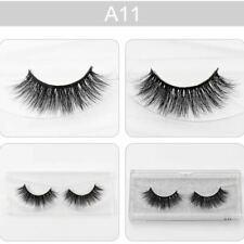 Fake Eye Lashes New 3D Mink False Eyelashes Wispy Cross Long Thick Soft