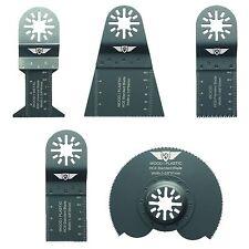 5 X mezcla las cuchillas de FEIN Bosch Makita Milwaukee Makita Aeg Multitool Multi Herramienta