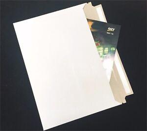 50x B4 255x355mm Heavy Duty Card Mailer Envelope Bag 250gsm Cardboard Tough bags