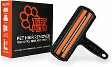 More details for pet hair remover tuff pets dog & cat fur from furniture  lint roller alternative