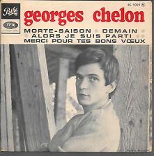 EP 4 TITRES--GEORGES CHELON--MORTE SAISON / DEMAIN