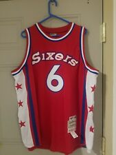 Mitchell Ness M&N Authentic Jersey Julius Erving Dr J 76ers Sixers USA 50 xl