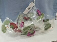 Floral Garland Floating Decor Red Flowers The Bloom Room Artisan Unopened