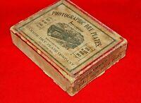 Vintage Hammer  St Louis Mo Photographic Dry Plates  1 DOZ 12- 3 1/4 x 4 1/4