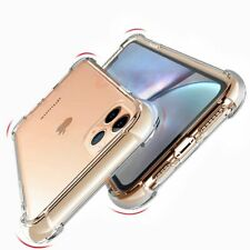 For iPhone 11 back covers Luxury shockproof transparent silicone phone case