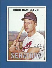 1967 Topps HIGH # 551 Doug Camilli - Washington Senators - NM/MT