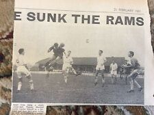 B1-4 ephemera 1961 picture football tommy marshall header margate f c