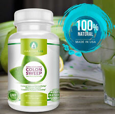 COLON CLEANSE DETOX CAPSULES ORGANIC HERBS FLUSH POUNDS WEIGHT LOSS Garcinialab