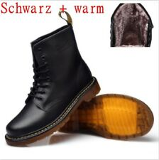 WARM GEFÜTTERT Dr. Martens Doc Boots 8 Eye Stiefel Lederstiefel GZ Stiefel 1460z