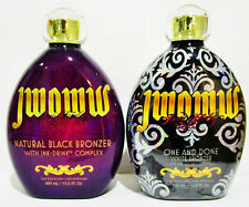 AUSTRALIAN GOLD JWOWW NATURAL ONE AND DONE BLACK BRONZER & WHITE BRONZER TANNING