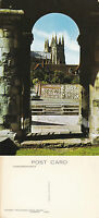 1970's CANTERBURY CATHEDRAL THROUGH ARCHWAY CANTERBURY KENT COLOUR POSTCARD
