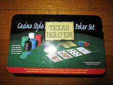 Casino Style Texas Hold'em Poker Set model GM-7320