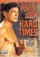 Hard Times DVD Charles Bronson James Coburn Walter Hill UK Release New Sealed R2