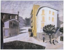 Enna Sicily Edward Bawden print in 11 x 14 mount ready to frame SUPERB