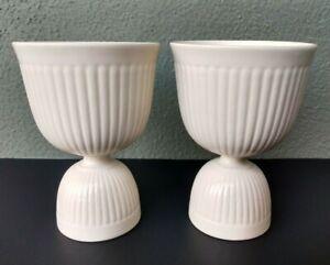 WEDGWOOD - EDME - EGG CUPS - PAIR - ENGLAND