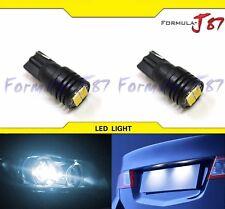 LED Light Canbus Error Free 912 White 6000K Two Bulbs Back Up Reverse Under Hood