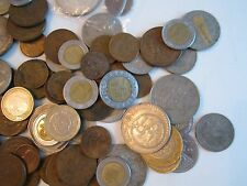 LOT OF MEXICO AND SPAIN COINS -1940'S, 50'S, 60'S & MORE -  UNSEARCHED - BB-1