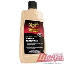 Meguiars Professional 26 Yellow Liquid Car / Sealant Wax *FREE POLISHING APP KIT