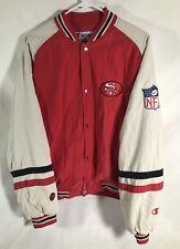 VTG San Francisco 49ers Champion Jacket Size Mens Large