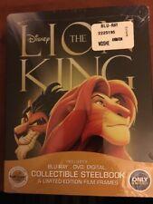 Lion King (Steelbook , Bluray, Cdn Copy) New