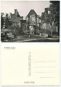 30089 - Richelieu - Porte de Chinon - Echtfoto - alte Ansichtskarte