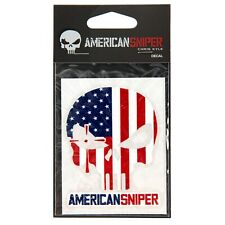 "Chris Kyle American Sniper Decal, 3"" USA Flag"