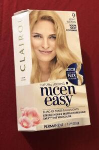 Clairol Nice 'n Easy Permanent Color (9) Light Blonde 1 Kit