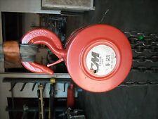 2260 CM 622 Series 5 Ton Manual Chain Hoist 10' Lift / 10' Hand Chain, Rebuilt