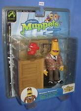 Muppets Muppet Newsman With Red Phone Muppet Show 2004 Palisades MOC