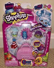 Shopkins Season 4 5 PACK Limited Special Edition Petkins Shopkin Rita Remote