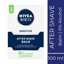 Nivea For Men Sensitive After Shave Balm 100ml Comfortable & Smooth Feel Skin