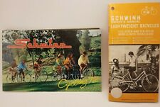 Schwinn 1972 Original Bicycle Sales Catalog with Stingray - PLUS 73 SERV. MANUAL